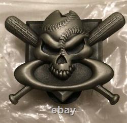 Oakley Skull Baseball Pin RARE