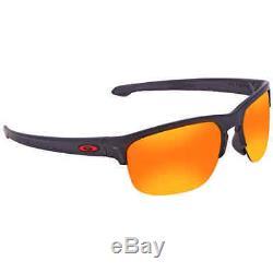 Oakley Sliver Edge Prizm Ruby Round Men's Sunglasses OO9413 941302 65