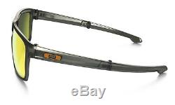 Oakley Sliver F Foldable Mens Polarized Sunglasses Fire Iridium Lens $220 NEW