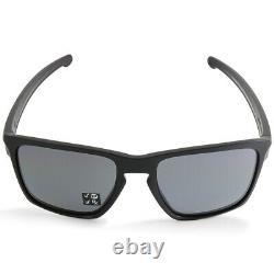 Oakley Sliver XL OO9341-01 Matte Black/Grey Polarised Men's Sport Sunglasses