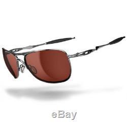 Oakley Sports Mens Crosshair Sunglasses Polished Chrome/VR28 Black Iridium