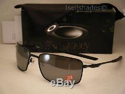 2dda2dedd2a Oakley Square Wire Matte Black W Black Iridium Polar Lens (oo4075-05)