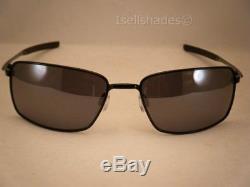 Oakley Square Wire Polished Black w Black Iridium Lens (oo4075-01)