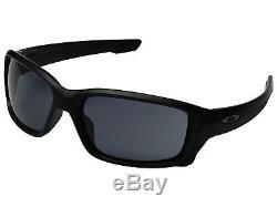 Oakley Straightlink OO9331-02 Sunglasses Matte Black Grey Lenses 9331 02