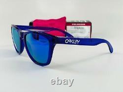 Oakley Sunglasses Frogskins Crystal Purple withViolet Iridium Polarized OO9013-H8