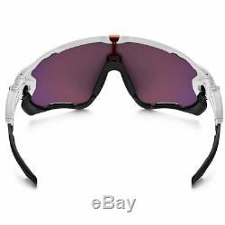 Oakley Sunglasses Jawbreaker Polished White withPrizm Road Lens Men's OO9290-05