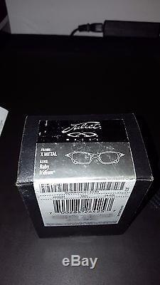 Oakley Sunglasses Juliet X-Metal Ruby Iridium Xserial Cyclops X-Men Original Box