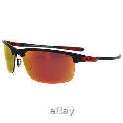 Oakley Sunglasses OO9174 06 Carbon Blade Ferrari Carbon Fiber Iridium Polarized