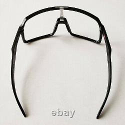 Oakley Sutro Polished Black Silver Icons Replacement Frame Only Authentic