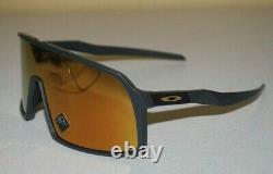 Oakley Sutro Sunglasses OO9406-0537 Matte Carbon/Prizm 24K NEW