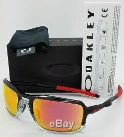 Oakley TRIGGERMAN Sunglasses OO9266-10 Black Ink Frame With Ruby Iridium Lens