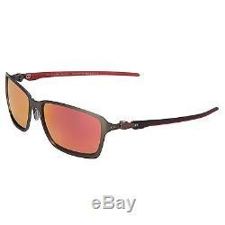 Oakley Tincan Carbon SCUDERIA FERRARI Ruby Polarized Men's Sunglasses OO6017-07