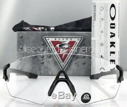 Oakley Tombstone Spoil Industrial OO9328-05 Matte Black Clear Lenses (LeZ87.1)