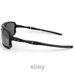 Oakley Triggerman OO9266-01 Matte Black/Black Iridium Men's Sport Sunglasses