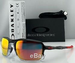 Oakley Triggerman Sunglasses OO9266-10 Black Ink Ruby Iridium Lens 59mm New
