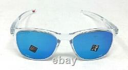 Oakley Trillbe X Men's Polished Clear Prizm Sapphire Sunglasses OO9340-1952