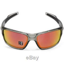 Oakley Turbine OO9263-10 Grey Ink/Ruby Iridium Polarised Men's Sport Sunglasses