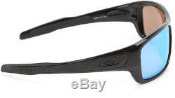 Oakley Turbine OO9263-14 Sunglasses Black Prizm Deep H2O Polarized 9263 14