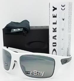 Oakley Turbine OO9263-55 Sunglasses Polished White Prizm Black Polarized 9263 55