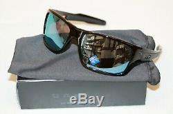Oakley Turbine POLARIZED Sunglasses OO9263-1463 Black Frame With PRIZM Deep Water