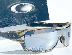 Oakley Turbine Rotor Desolve Camo POLARIZED Galaxy Mirror Chrome Sunglass 9307