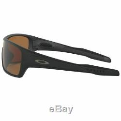 Oakley Turbine Rotor Men Sunglasses Matte Black withPrizm Tungsten Polarized Lens