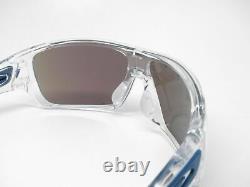 Oakley Turbine Rotor Sunglasses OO9307-10 Polished Clear With Sapphire Iridium