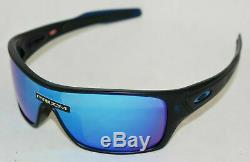 Oakley Turbine Rotor Sunglasses OO9307-2532 Matte Trans Blue With PRIZM Sapphire