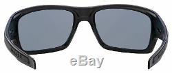 Oakley Turbine Sunglasses OO9263-07 Matte Black Grey Polarized Lens