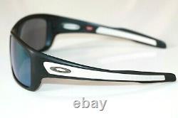 Oakley Turbine Sunglasses OO9263-6363 Matte Black Frame With Jade Iridium Lens