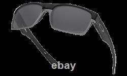 Oakley Twoface POLARIZED Sunglasses OO9256-06 Black With Black Iridium ASIA FIT