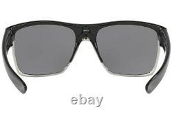 Oakley Twoface XL Sunglasses OO9350-07 Polished Black With Chrome Iridium Lens