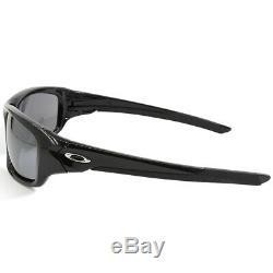 Oakley Valve OO9236-01 Polished Black/Black Iridium Men's Sports Sunglasses