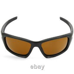 Oakley Valve OO9236-03 Matte Black/Dark Bronze Men's Sports Sunglasses