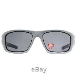 Oakley Valve Sunglasses Review  oakley valve oo9236 05 matte fog blue grey polarized men s sunglasses