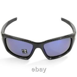 Oakley Valve OO9236-12 Polished Black/Deep Blue Polarised Men's Sunglasses