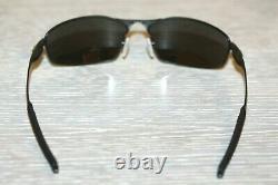 Oakley WHISKER POLARIZED Sunglasses OO4141-0360 Satin Black With PRIZM Black Lens