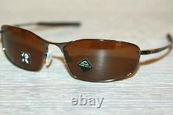 Oakley WHISKER POLARIZED Sunglasses OO4141-0560 Tungsten With PRIZM Tungsten Lens