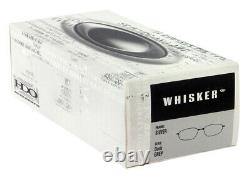 Oakley Whisker Sunglasses SILVER DARK GREY New Boxed 05-716