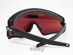 Oakley Wind Jacket 2.0 OO9418-02 Matte Black withPrizm Snow Black Iridi Sunglasses
