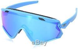 Oakley Wind Jacket 2.0 Sunglasses OO9418-1345 Matte Sky Blue Prizm Sapphire Lens