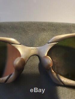 Oakley X Metal Black Cerekote Romeo 1 withRuby Iridium Lenses Excellent condition