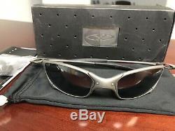 Oakley X Metal Juliet Carbon withBlack Iridium Complete Set Excellent Condition