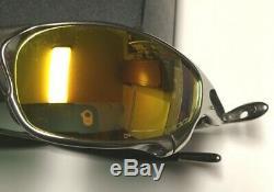 Oakley X Metal Juliet Polished Men's Polarized Sunglasses Rare