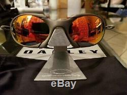 Oakley X Metal Romeo 1 with custom cut Ruby Iridium brand new lenses