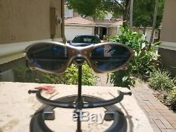 Oakley X Metal Titanium Penny with Ice Iridium Lenses Excellent condition