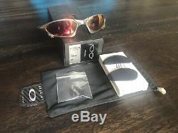 Oakley X Metal Titanium Penny with Ice and Ruby Quartz
