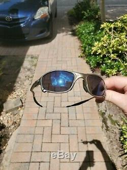 Oakley X Metal XX Plasma Ice Iridium Ist Gen Lenses Great Cond withPurple Hue lens