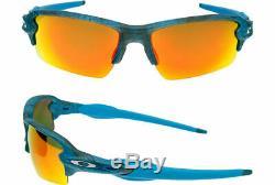 Oakley sunglasses Flak 2.0 Aero Grid Sky Prizm Ruby OO9271-2961 Asian AUTHENTIC