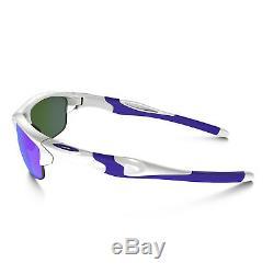 Original Oakley Half Jacket 2.0 Sunglasses OO9144-08 Pearl Violet Iridium Lens